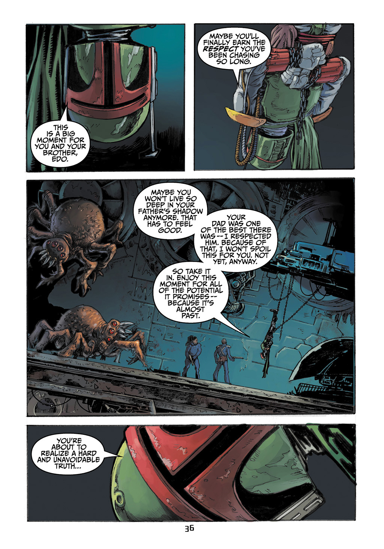 Read online Star Wars Adventures comic -  Issue # Issue Boba Fett and the Ship of Fear - 37