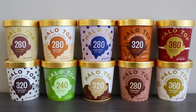 halo ice cream flavors nutrition facts