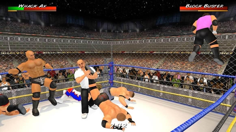Wrestling Revolution 3D v 1.660 apk mod FULL VERSÃO COMPLETA