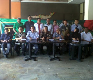 Para kandidat yang akan merebutkan kursi nomor satu di tubuh Partai Persatuan Pembangunan ( PPP )