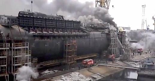 Navy Matters Russian Shipyard Fires
