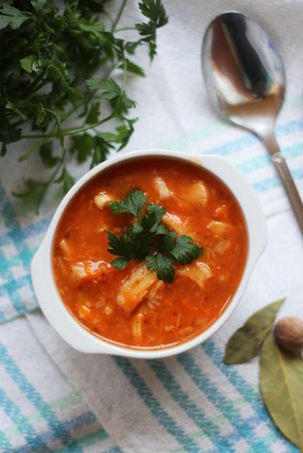 flaczki, flaki, zupa