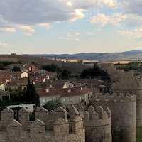 The walls of Avila - photo David Hughes