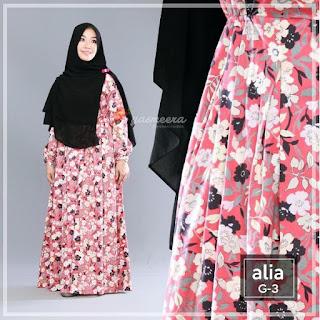 Gamis Yasmeera Alia Dress G3