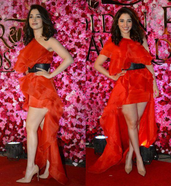 Tamannah at Lux Golden Rose Awards 2016