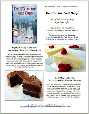 Cleo coyle recipes no bake key lime cheesecake pie my dead drop recipe pdf cover cleocoyleg forumfinder Image collections