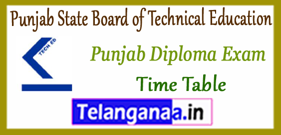 PSBTE Punjab State Board of Technical Education e-Counselling Time Table 2018 Seat Allotment