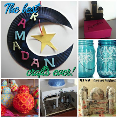 EID and Ramadan,  Activities. Ideas. crafts, more #recycle #redecorate