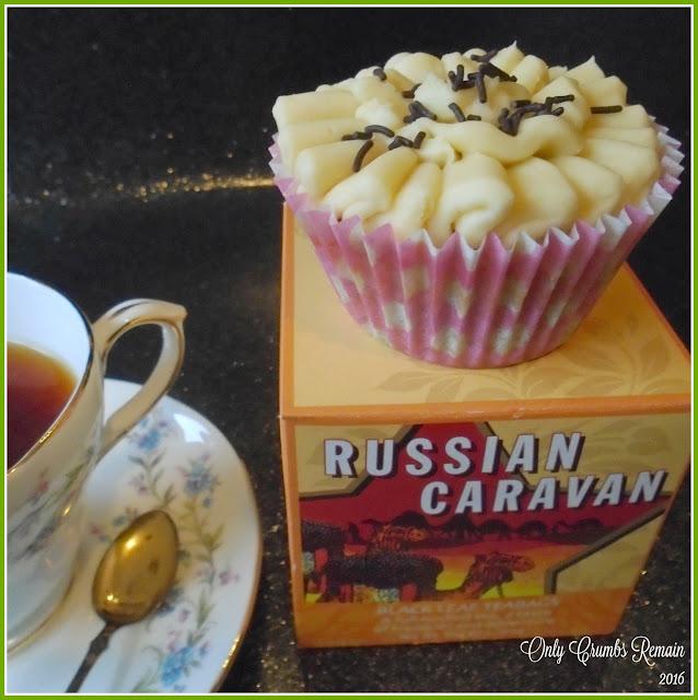 Russian Caravan Cupcakes