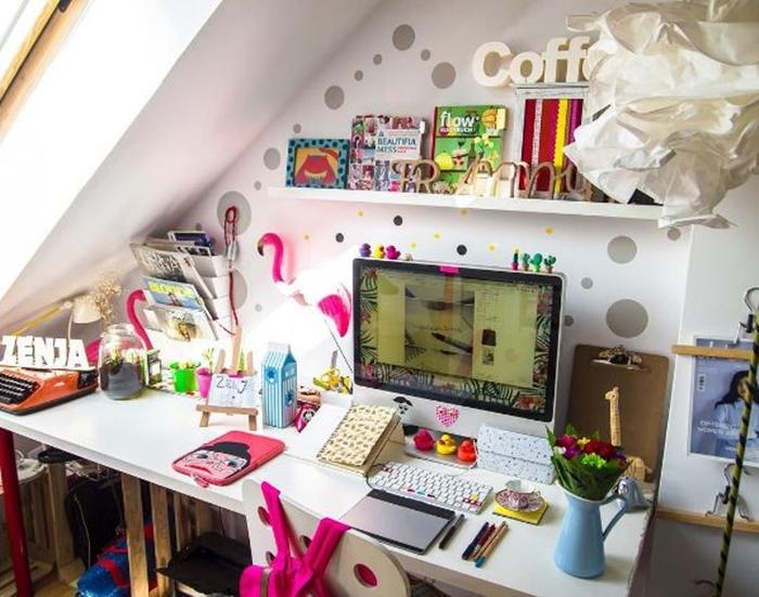 Zenja | biurka polskiej blogosfery
