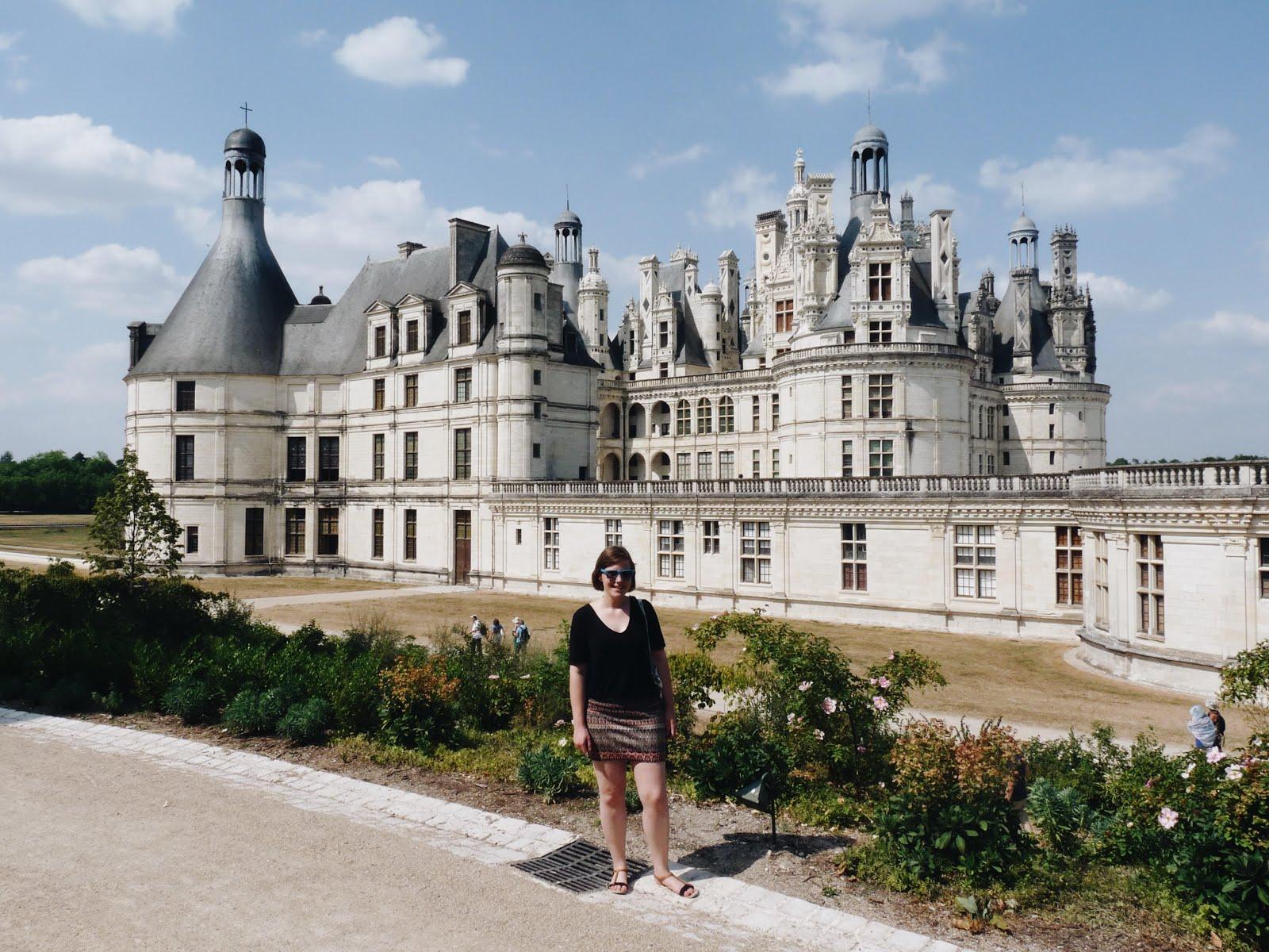 chambord châteaux de la loire Loire Valley été vacances visite summer