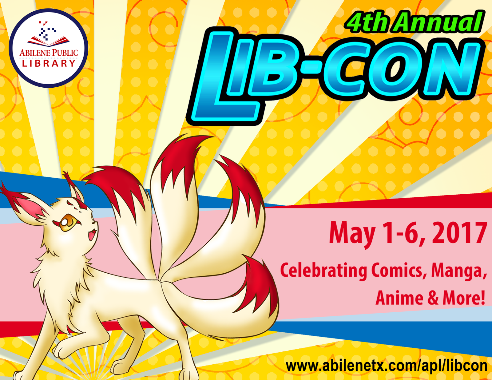 Lib con celebrates anime manga comics superheroes and all things pop culture and this years version is bigger and better than ever
