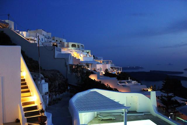 Greece, Santorini, Travel, white, architecture, slope