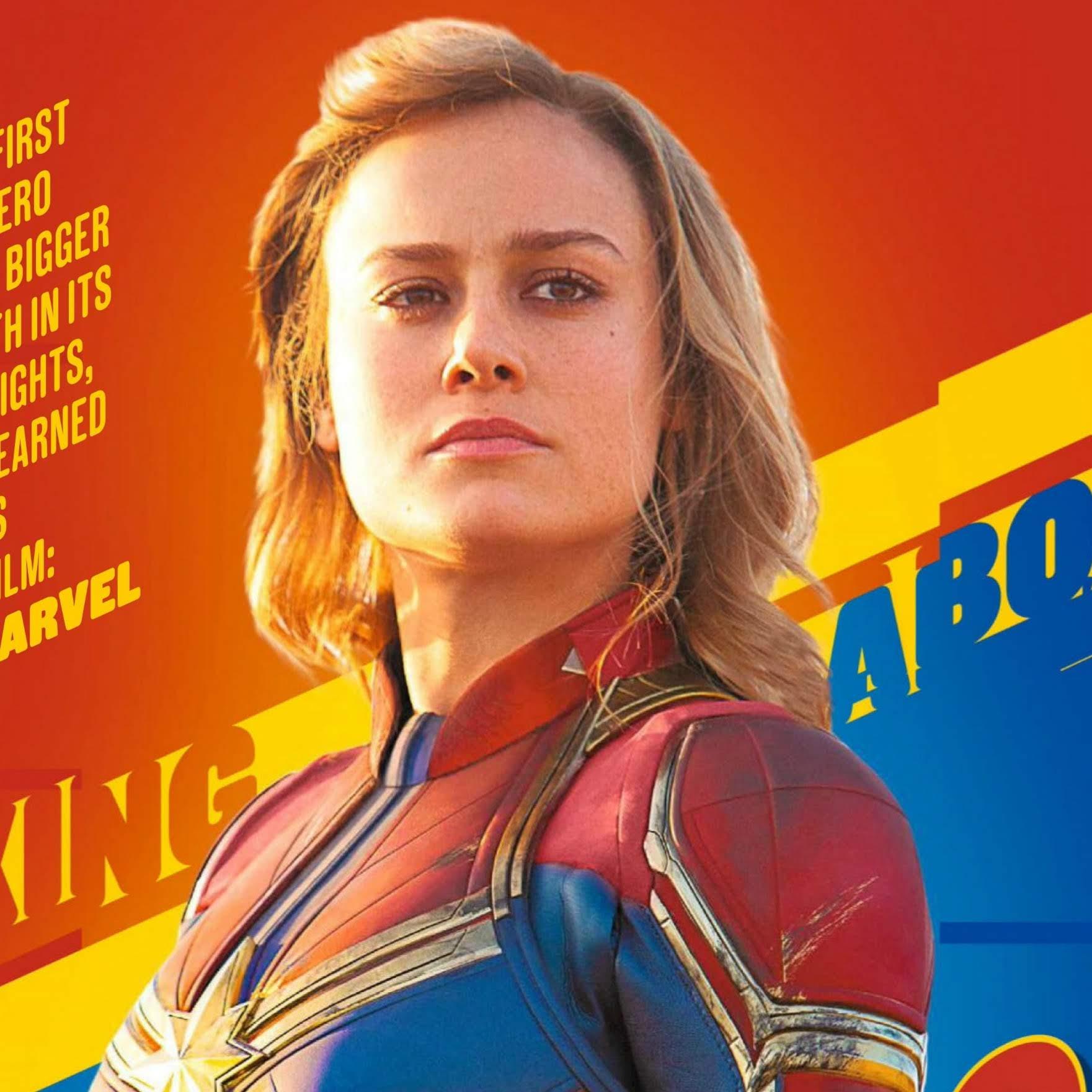 Captain Marvel on Empire Magazine : イギリスの映画マガジン、エンパイア誌上の「キャプテン・マーベル」の新しい写真 ! !