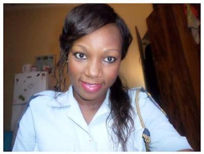 Kenyan female police officer nudes