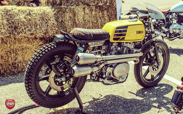 Yamaha XS 400 Cafe Racer by Reier Motors Austria