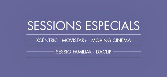 Sesiones especiales