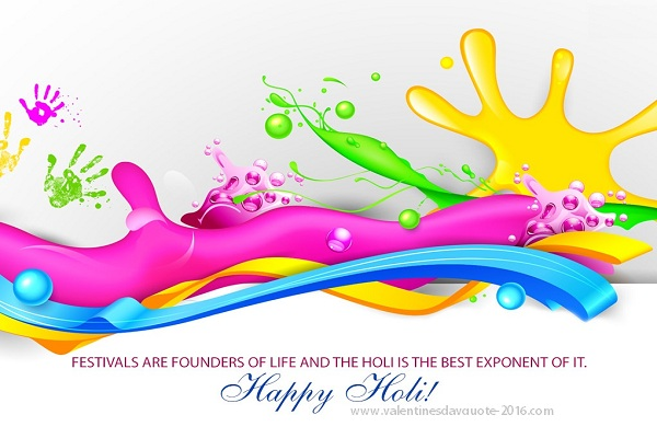 {*Colour}Happy Holi 2017 Photos Wallpapers Wishes Quotes Songs