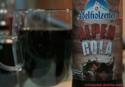 Adelholzener Alpen-Cola - альпийская кола