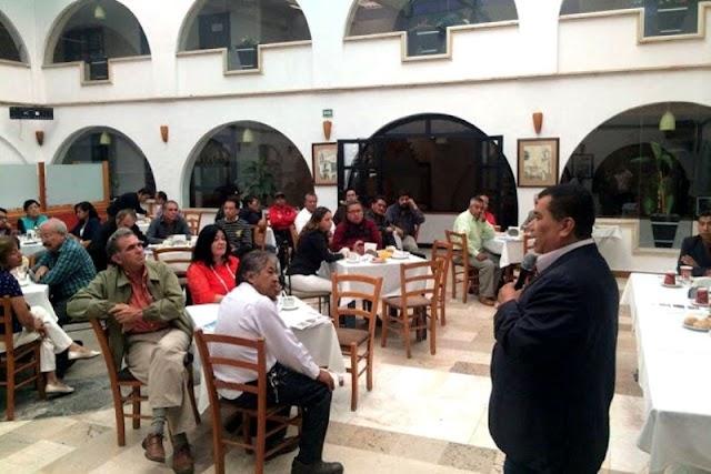 López Zavala en Cholula exige a las autoridades proteger a los ciudadanos