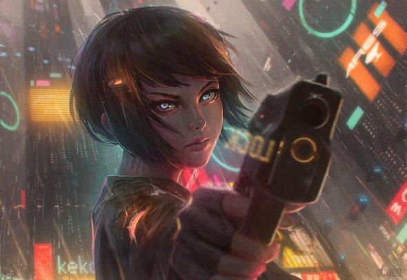 Guweiz deviantart ilustrações mulheres animes fantasia ficção científica