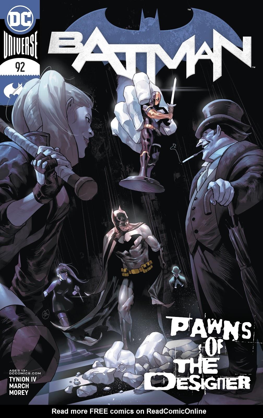 Batman (2016) 92 Page 1