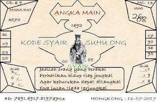 SYAIR HONGKONG, PREDIKSI TOGEL DAN BOCORAN ANGKA JITU HK MINGGU