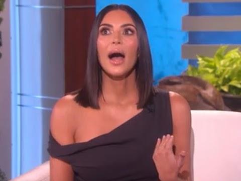 kim kardashian in lacrime da ellen, la rapina a parigi l'ha resa una persona migliore