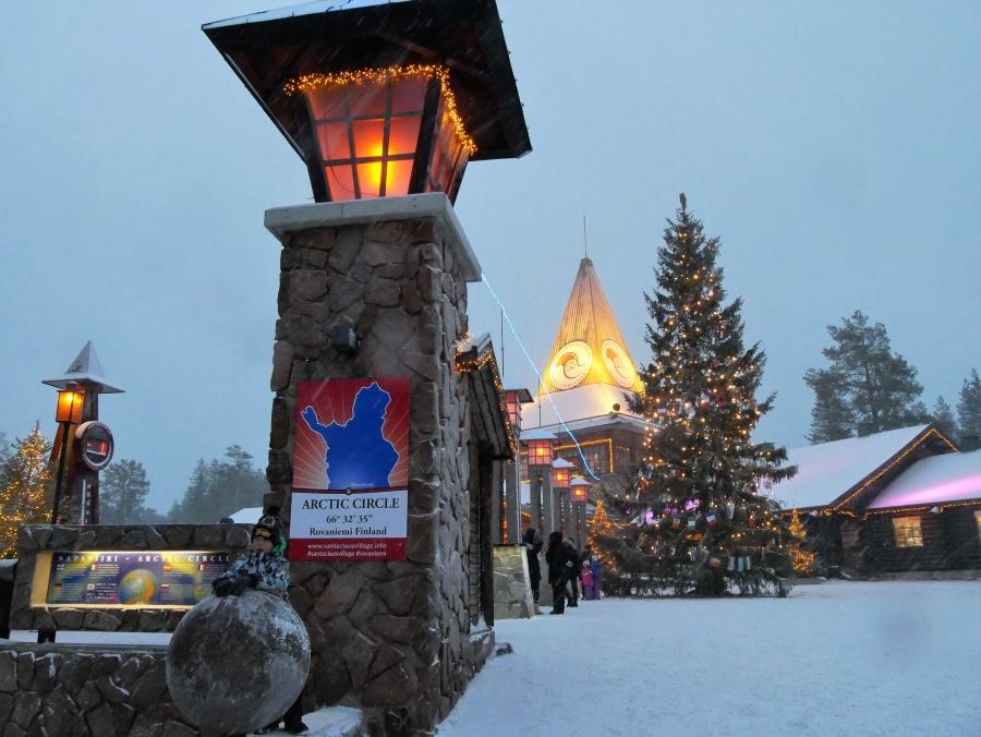 Napapiiri Lappi Rovaniemi