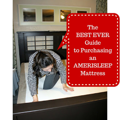 Amerisleep mattress reviews Pinterest image