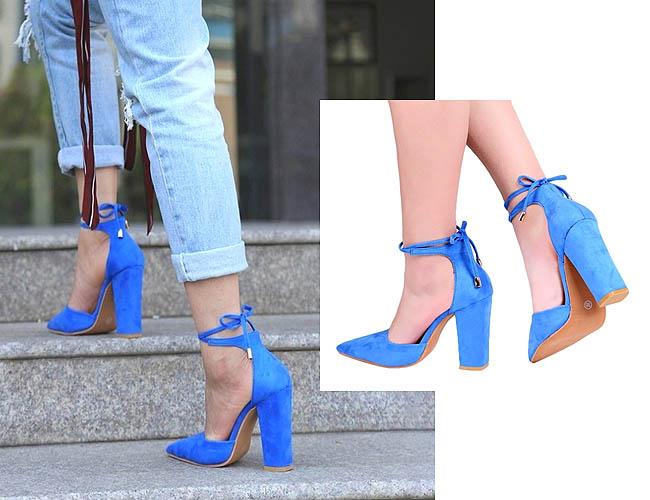 High heels cantik dengan style pointed toe