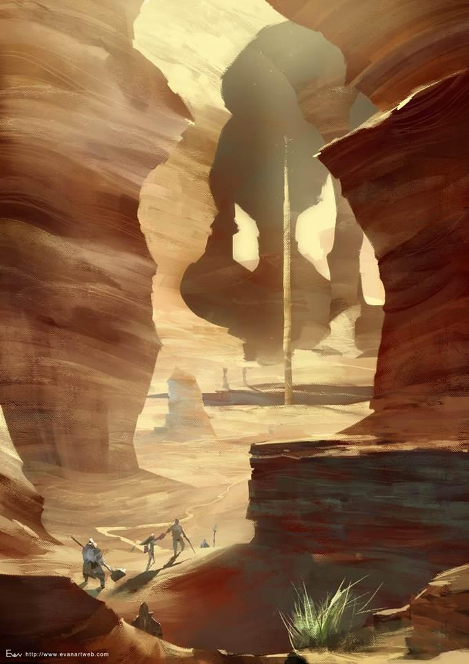 evan lee illustration game project 26