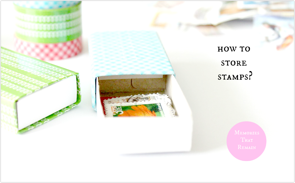 how to store  stamps?