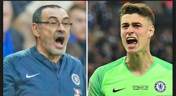 Chelsea's Kepa fined, apologises for League Cup final mutiny (DETAILS)