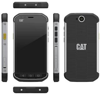 Ponsel Caterpillar CAT S40 tahan banting 2016