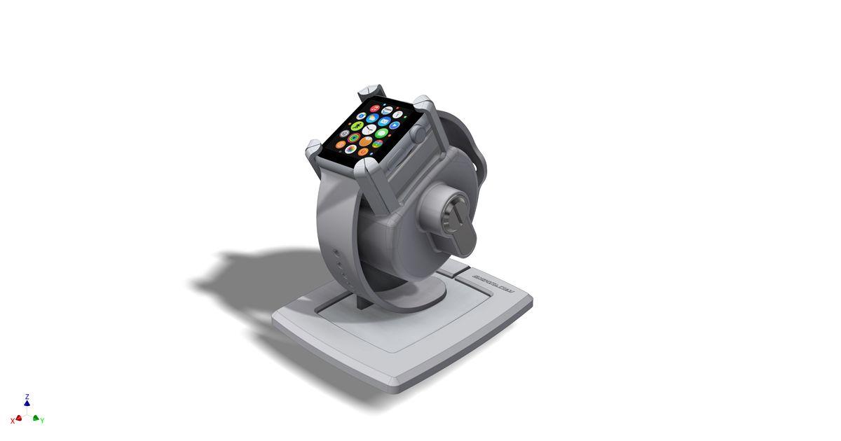 Gripzo手錶防盜架,智慧手錶防盜鎖