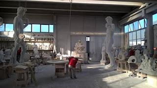 Estúdio nas pedreiras de Carrara, Toscana