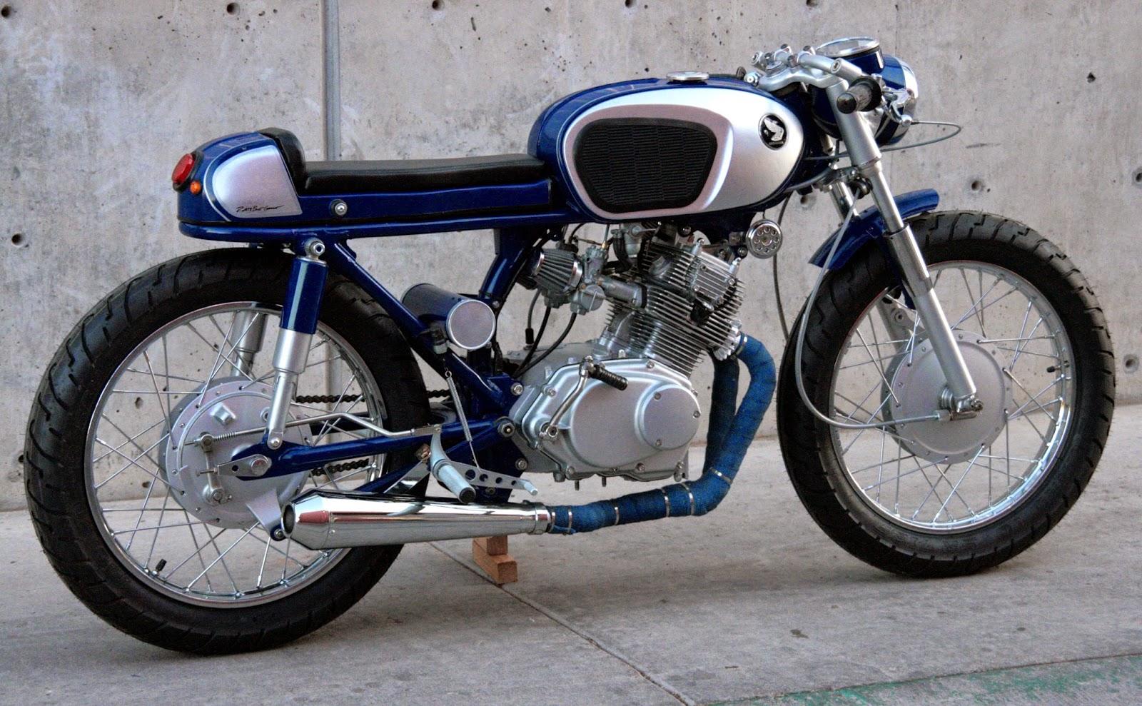 Rusty Bolt Garage 1965 Honda Cb160 Baby Hawk