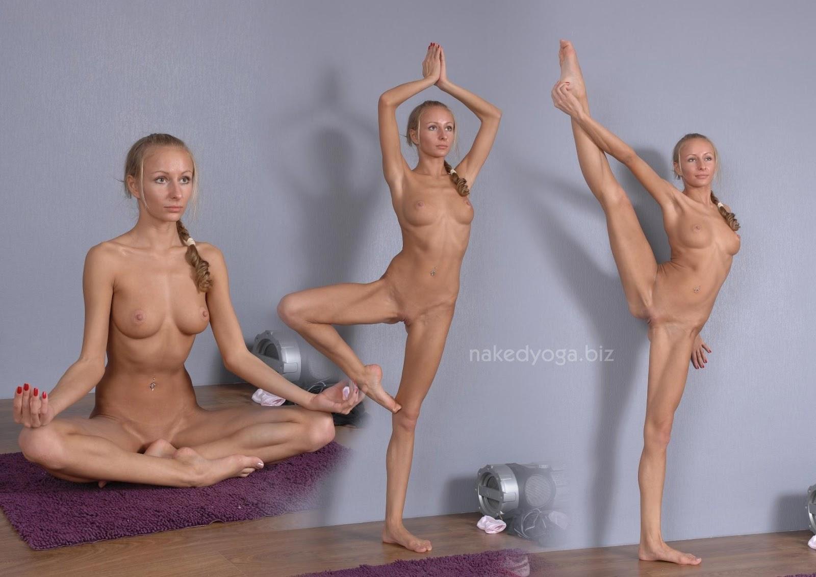 Hot Women Doing Yoga Naked