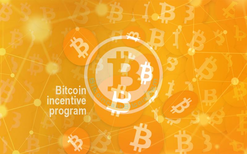 bitcoin incentive program