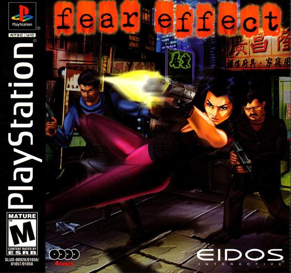 Fear Effect - PSX - Portada