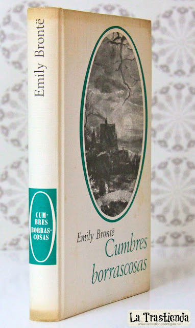 Libro - Cumbres Borrascosas - Emily Brontë - Edición 1965