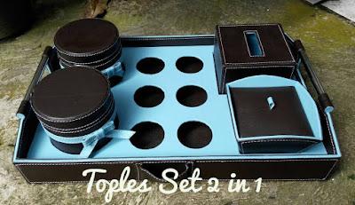 Toples Set / Toples Vinyl Murah 2in1