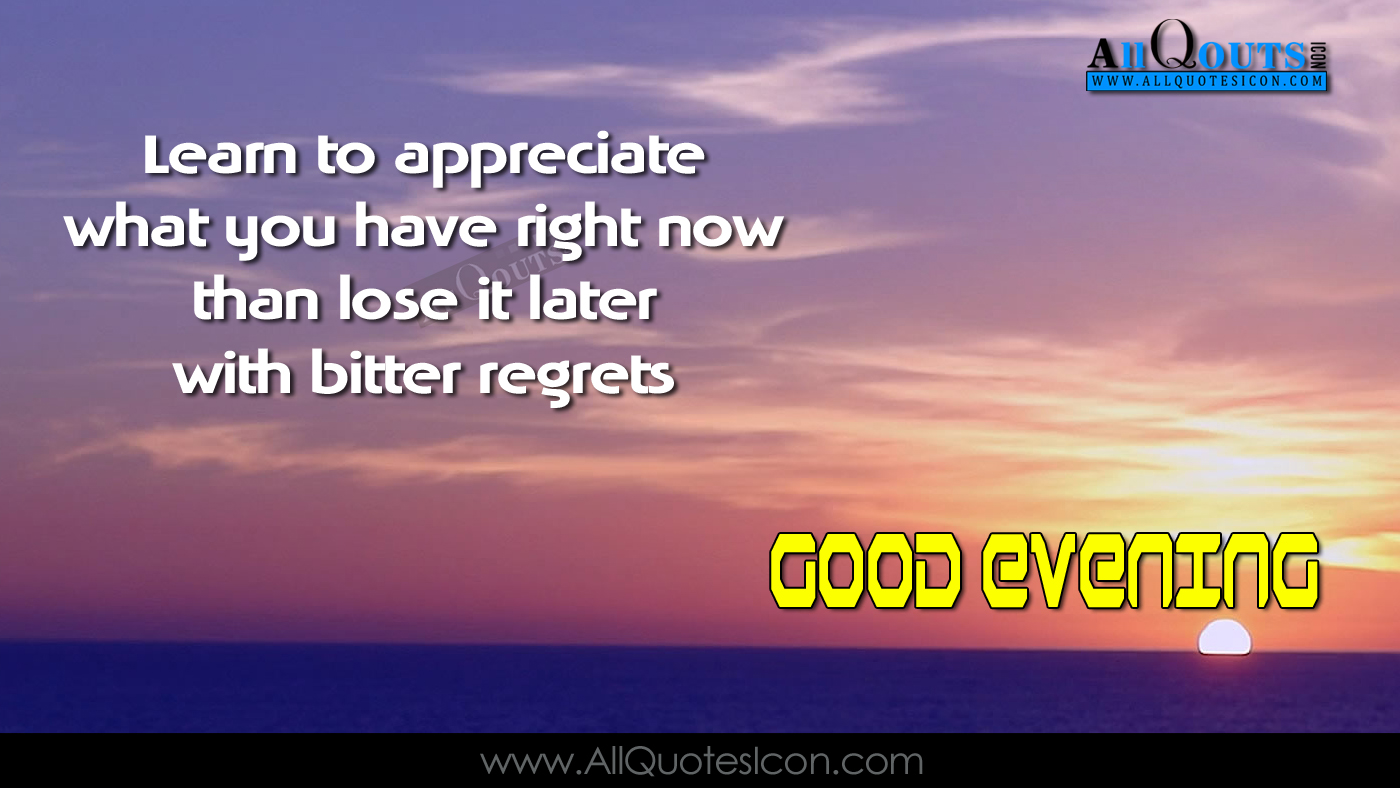 Good Evening Messages In English Top Motivational Sayings And