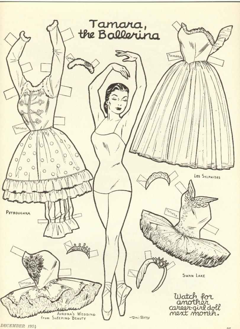 kathleen taylor 39 s dakota dreams thursday tab tamara the ballerina. Black Bedroom Furniture Sets. Home Design Ideas