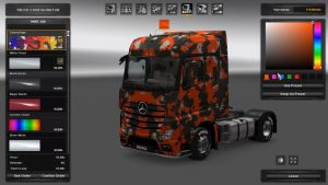 Skin Pack Custom Color Camouflage