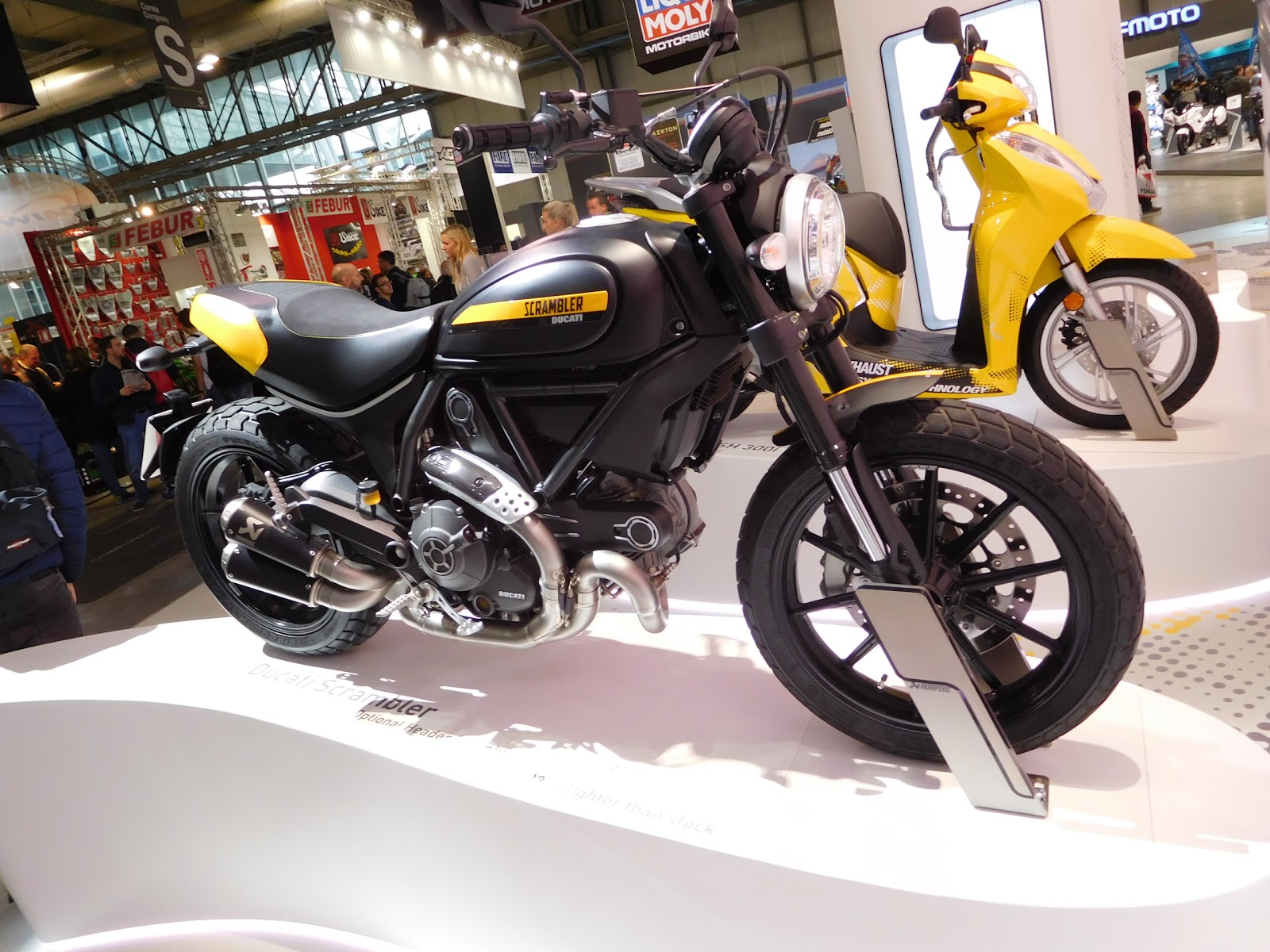 Akrapovic Modified Ducati Scrambler