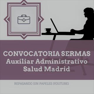 convocatoria-auxiliar-administrativo-sermas-2018