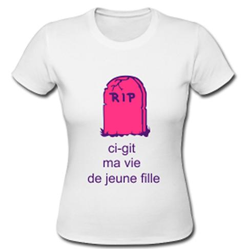 enterrement de vie de jeune fille crazy evjf le blog id es t shirt pour un crazy evjf evg. Black Bedroom Furniture Sets. Home Design Ideas
