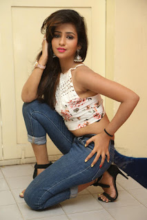 Deekshita Parvathi in a short crop top and Denim Jeans Spicy Pics Beautiful Actress Deekshita Parvathi January 2017 CelebxNext (99).JPG